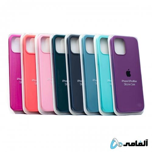 کاور سیلیکونی مناسب iphone 12 promax