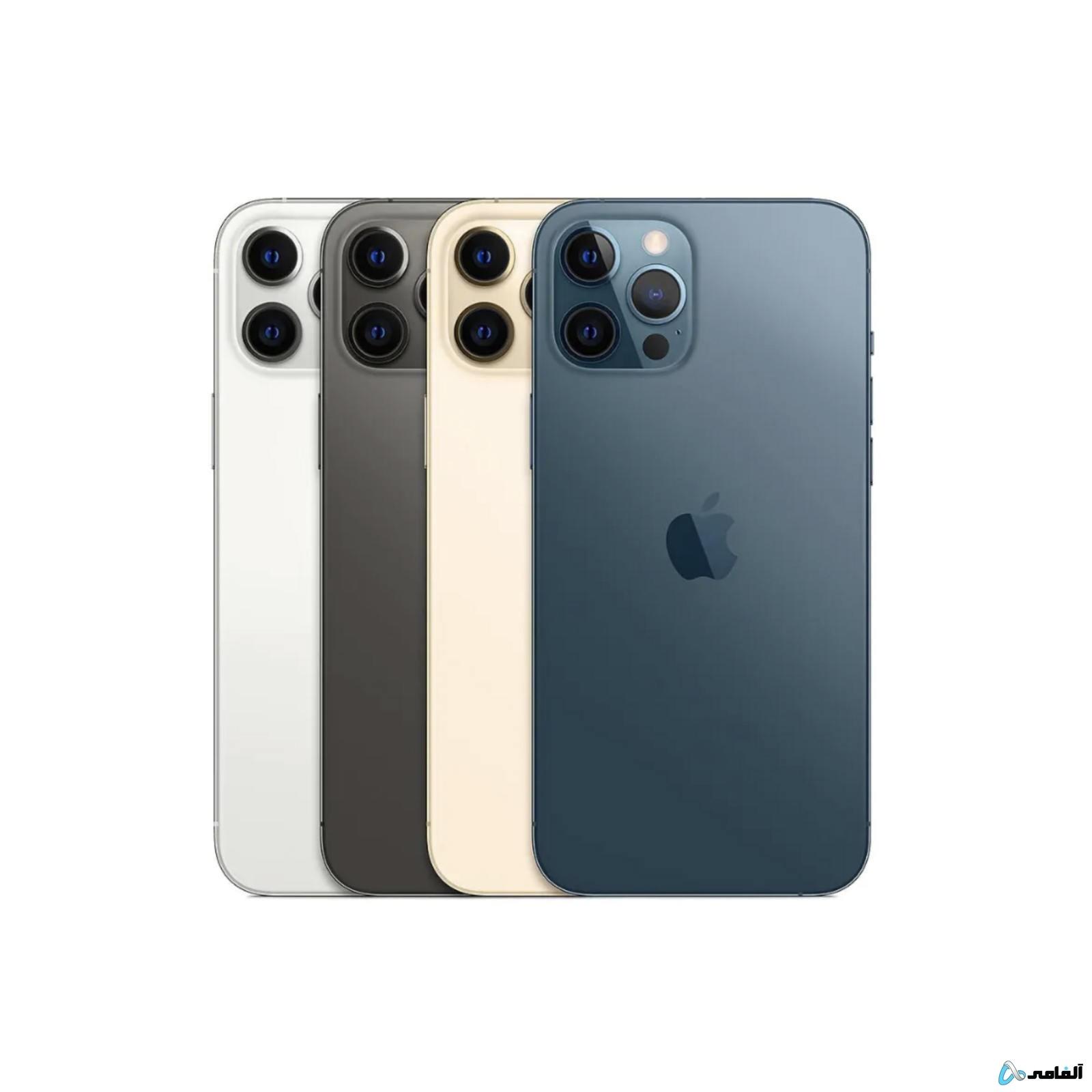 گوشی موبایل اپل مدل iPhone 12 Pro Max A2412 دو سیم کارت ظرفیت ۱۲۸ گیگابایت